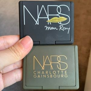 Nars duo eyeshadow palettes both limited edition